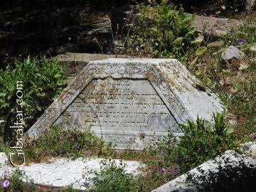Tumba en el Jew's Gate Cemetery o Cementerio de la Puerta de los Judíos