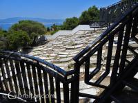 Cementerio Jew's Gate y la Bahía de Gibraltar