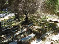 Tumbas en el Cementerio de Jew's Gate