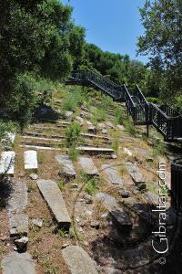 El Cementerio de Jew's Gate y la pasarela elevada
