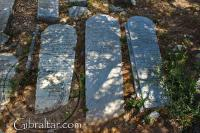 Lápidas del Cementerio Jew's Gate o Puerta de los Judíos