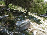 Tumbas del Cementerio Jew's Gate o Puerta de los Judíos