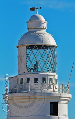Top of the Lighthouse at Europa Point Gibraltar