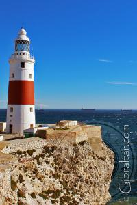 Trinity Lighthouse and Rock at Europa Point