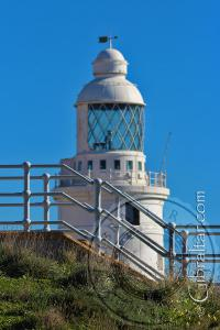 The Lighthouse Behind the Hardings Battery Stairs