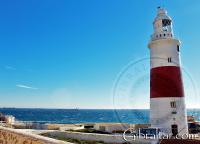 Día de viento en el Faro de Gibraltar