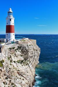 El Faro en Punta Europa, al sur de Gibraltar
