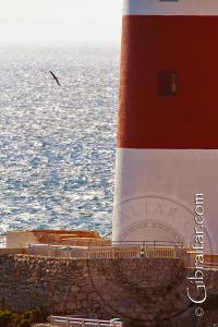 Foto parcial del Faro de Punta Europa de Gibraltar