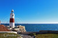 Vista desde el sur del Faro de Trinidad, Gibraltar