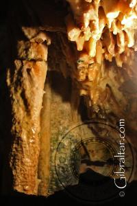 Damage suffered within the Lower Saint Michael's Cave
