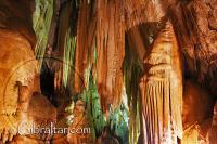 Vistas espectaculares en el interior de la Cueva Baja de San Miguel