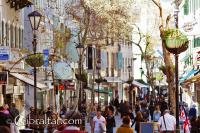 Main Street in Gibraltar