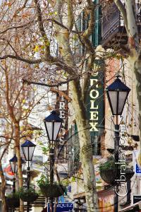 Winter Main Street Gibraltar