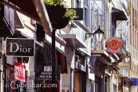 Shopping in Main Street Gibraltar