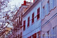 Edificios de Main Street en Gibraltar