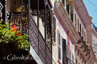 Arquitectura en la Calle Principal de Gibraltar