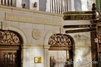 Gibraltar Savings Bank o Banco de Ahorros de Gibraltar en la Calle Principal