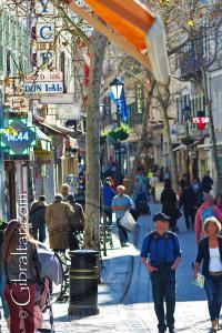 Main Street o Calle Principal de Gibraltar