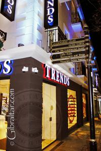 La tienda Trends store en Main Street de Gibraltar