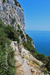 Sendero de Martin - Martin's Path - Escalera del Mediterráneo en Gibraltar