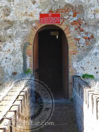 Entrance walkway to the Moorish Castle