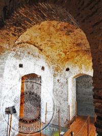 Inside the Tower of Homage Gibraltar