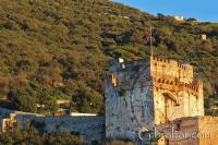 The Moorish Castle in Gibraltar