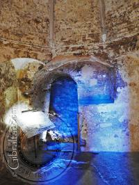 Prayer room inside the Moorish Castle