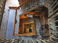 The Moorish Castle spiral staircase