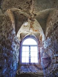 Tower of Homage window Moorish Castle