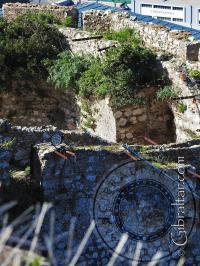 Walls outside the Moorish Castle