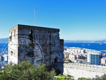 Parte superior de la Torre del Homenaje