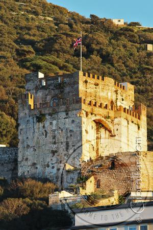 Bella imagen del Castillo Árabele