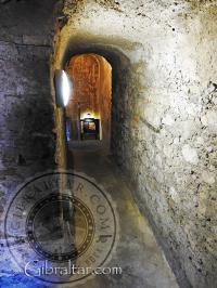 La escalera de caracol del Castillo Árabe.
