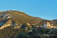 El Castillo Árabe y el Peñón de Gibraltar