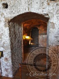La entrada a la Sala de Oraciones del Castillo Árabe