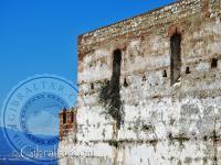 Parte más alta del Castillo Árabe de Gibraltar
