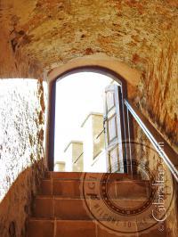 Salida superior del Castillo Árabe, Gibraltar