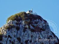 Foto ampliada de la Batería O'Hara desde las cercanías de Punta Europa