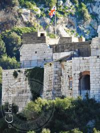 Vista lateral de la Fortaleza de Parson