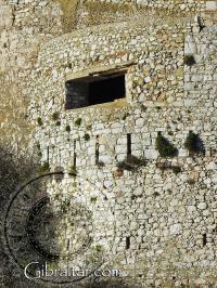 Ventana de la Fortaleza de Parson, Gibraltar