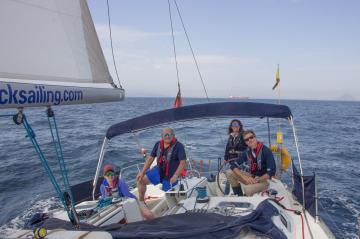Rock Sailing in Gibraltar