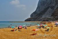 Bahía de Sandy Beach en Gibraltar