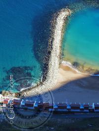 Espigón de la Bahía de Sandy Beach