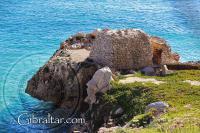 Fortificación situada entre La Caleta y la Bahía de Sandy