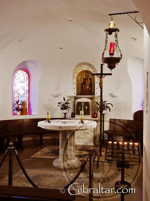 Inside the Shrine of Our Lady of Europe