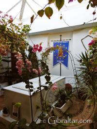 Entrada al Santuario de Nuestra Señora de Europa