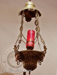 Lámpara del Santuario de Nuestra Señora de Europa, Gibraltar