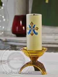 Vela en el Santuario de Nuestra Señora de Europa