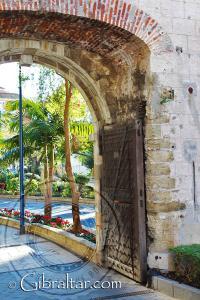 The original Southport gate